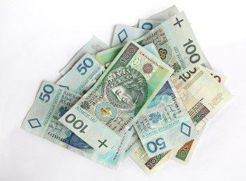 banknoty złotówki