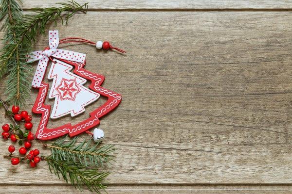 mini choinka bożonarodzeniowa